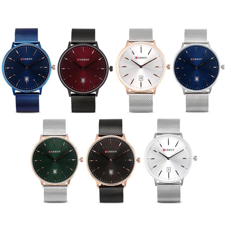 Curren 8302 Fashion Men Quartz Watch 6