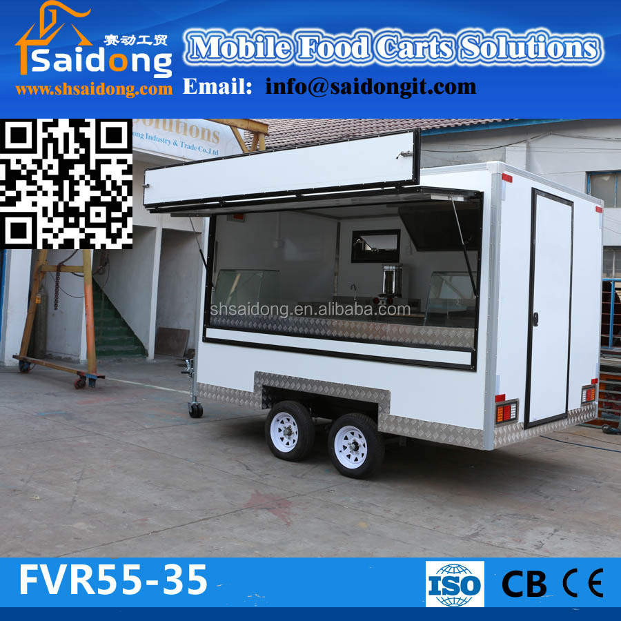 Neuzustand Essen Wohnwagen Wohnmobil Anhänger Fast-food-kiosk Zum ...