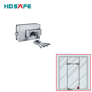 glass door accessories square glass entrance door patch lock
