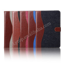 Jeans wallet Case for iPad Mini 4,case for ipad mini 4 with stand multi color
