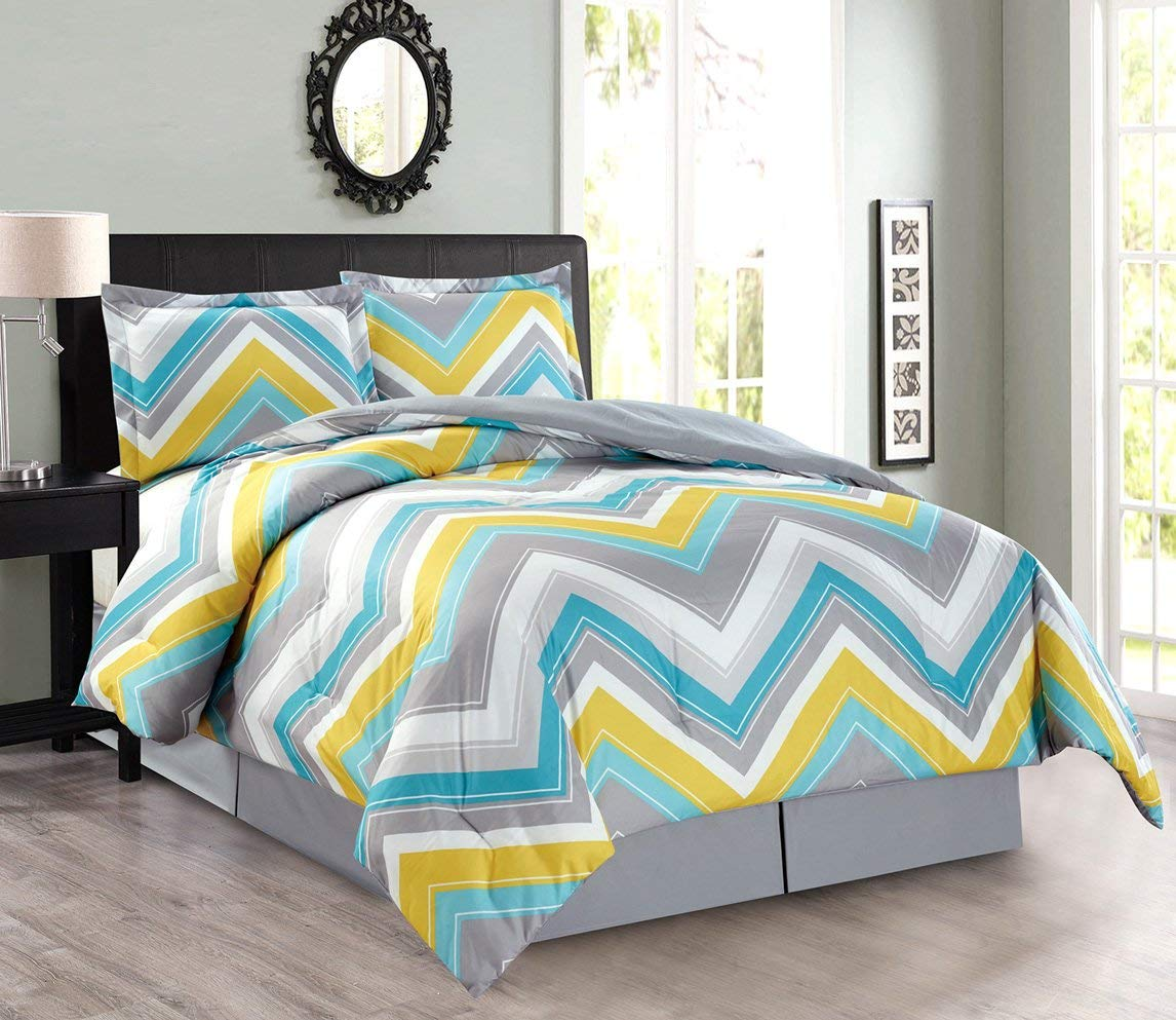 Blue And Yellow Comforter Find