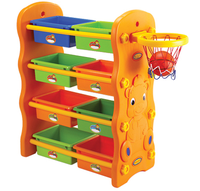 Good baby plastic toys shelf kids toy storage