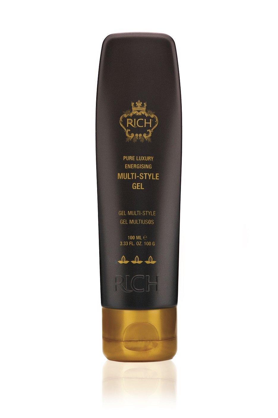 RICH Hair Care Multi-Style Gel, 3.33 fl. oz.