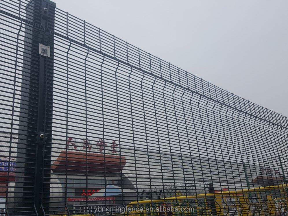 Cheap Welded 358 Wire Mesh Fence Material Anti Climb Mesh Fencing ...