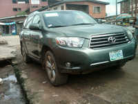 8months Used Toyota Highlander - Buy Used Car Toyota Highlander ...