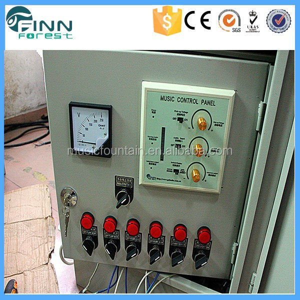 Factory supply DMX program PLC program water fountain control system