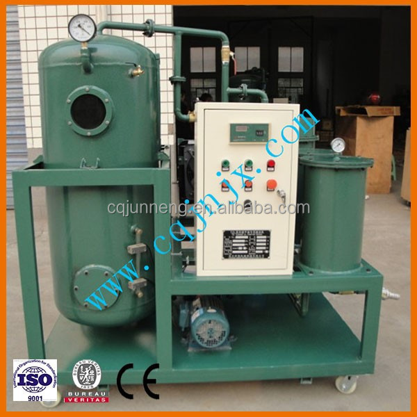 TZL Turbine Oil Cleaning Systems / Purification Systems/ Turbine Lube Oil Purifier , oil recondition