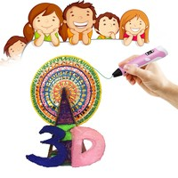 hot Popular 3d printer pen for school and office 3d pen for kids