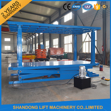 Double Layers Hydraulic Lift Parking Lifting For Car Repair