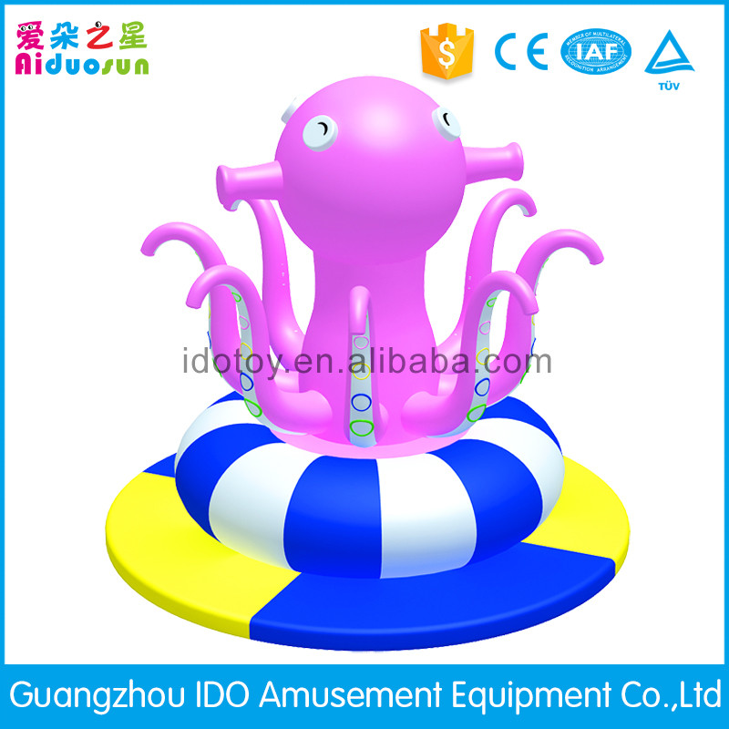 Indoor plaground equipment inflatable octopus