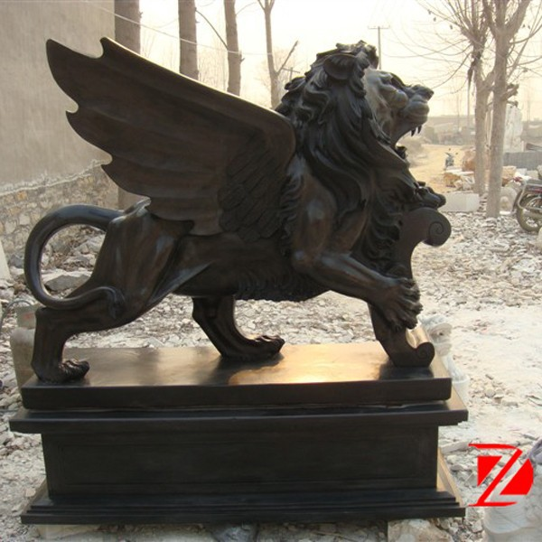 Supplier outdoor lion statue outdoor lion statue for Large garden stones for sale
