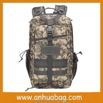 Multicolor Camouflage 3P Wholesale Backpacks China