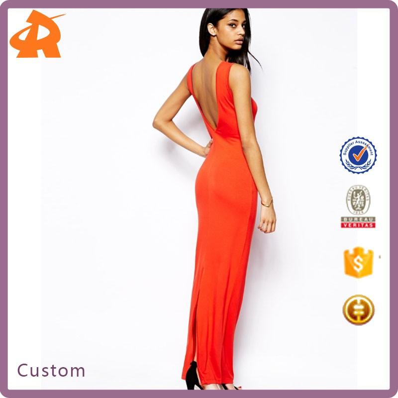 56a5e5245a4d65 zeer sexy lage rug mouwloze maxi jurk zomer mode lange jurk groothandel elegante  maxi jurk