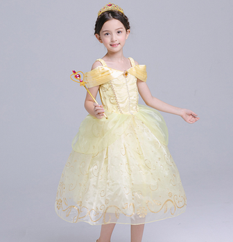 afac9a82eadc Baby Girl Tutu Dress Kids Prom Wedding Party Festival Birthday ...