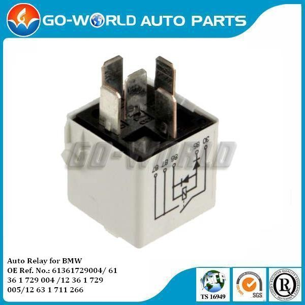 Auto Relay For Bmw 61361729004/ 61 36 1 729 004 /12 36 1 729 005 ...