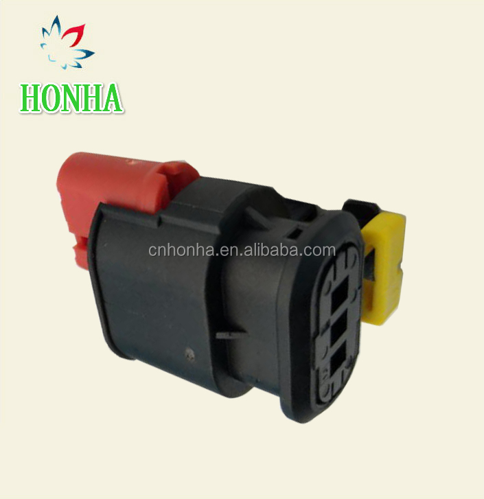 3 Pin Female Connector Plug Fuel Diesel Injector Ignition Coil AMP Tyco 284425-1