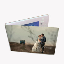 Pupular design lcd video greeting card/custom video wedding inviatation card