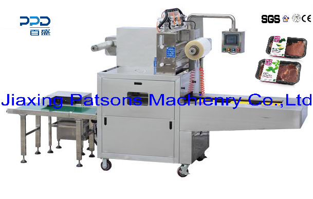 New Arrival Fully Automatic MAP Food Container Sealing&Packaging Machine