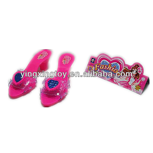 plastic wholesale toy kids high heel shoes