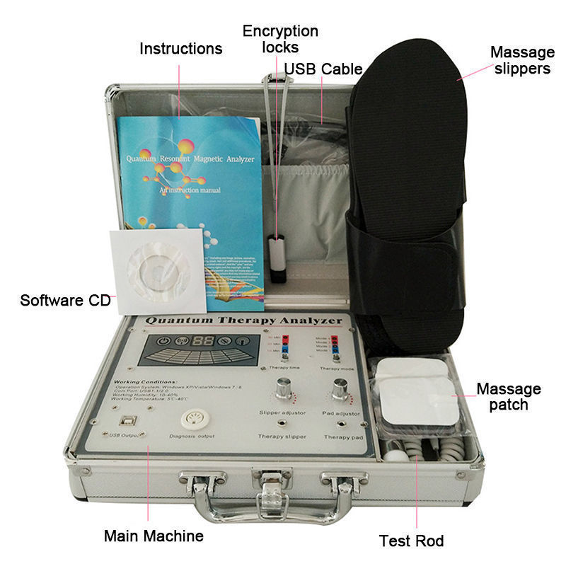 New Quantum Healthy Body Analyzer Magnetic Resonance Massage Therapy Sub <strong>Health</strong>