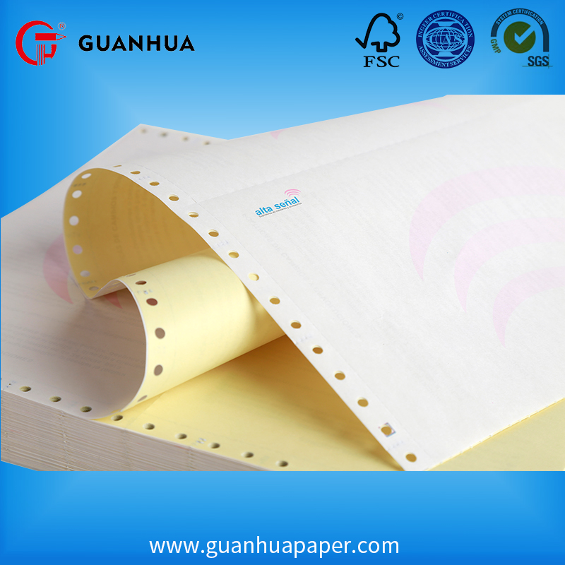 Customized printed computer paper copier