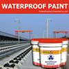 ISO Certified chemical pliable coating polymer waterproof paint