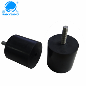 OEM rubber isolation damper mounts with M8 screw for machine