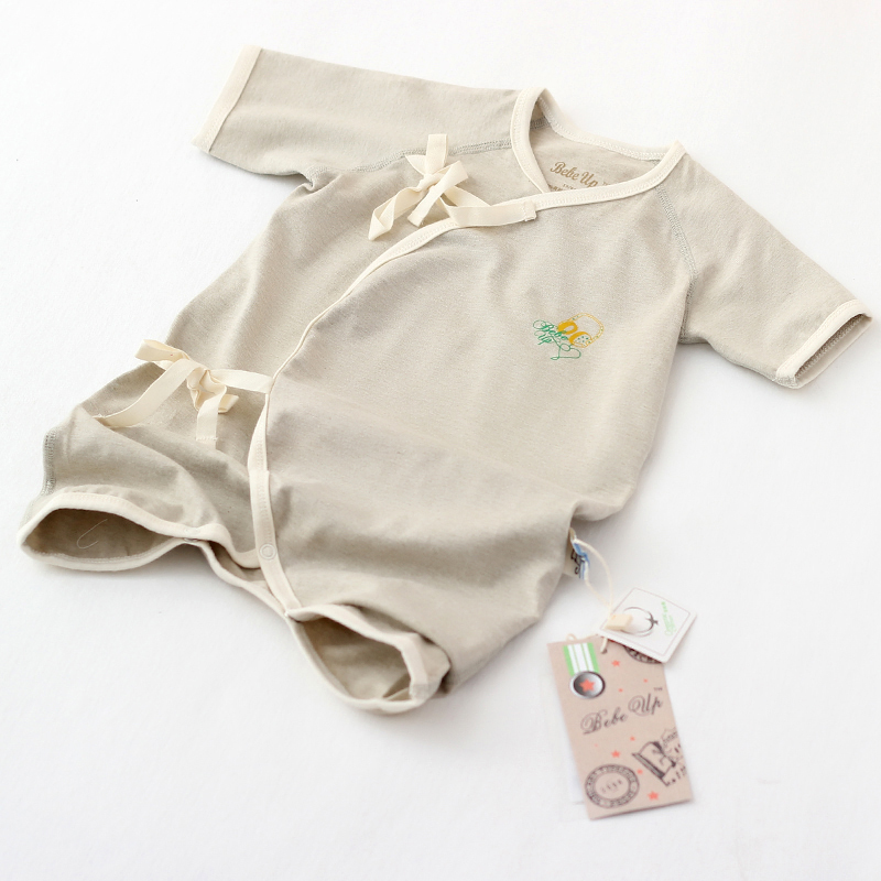 Buy Gots Certificate Organic Cotton Baby Clothes Infant Soft Rompers