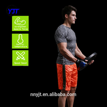 Design Your Own Wholesale Men Dri Fit Sports Wear Tight Fiitness T Shirt