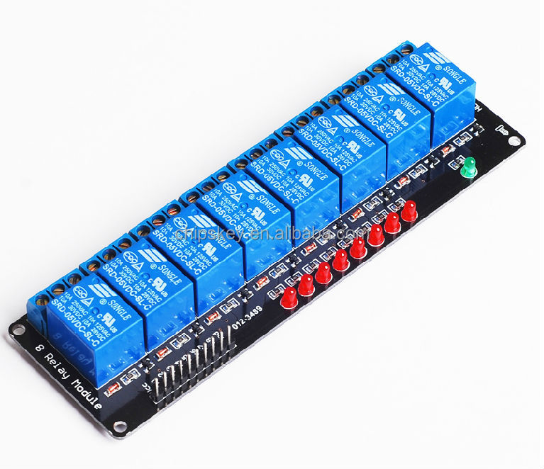 Microcontroller development board 8 Channel relay Shield supports AVR/51/PIC For Arduiner