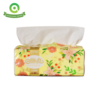 2ply Cheap Price Tissue Paper Small Facial Tissue 18*10cm