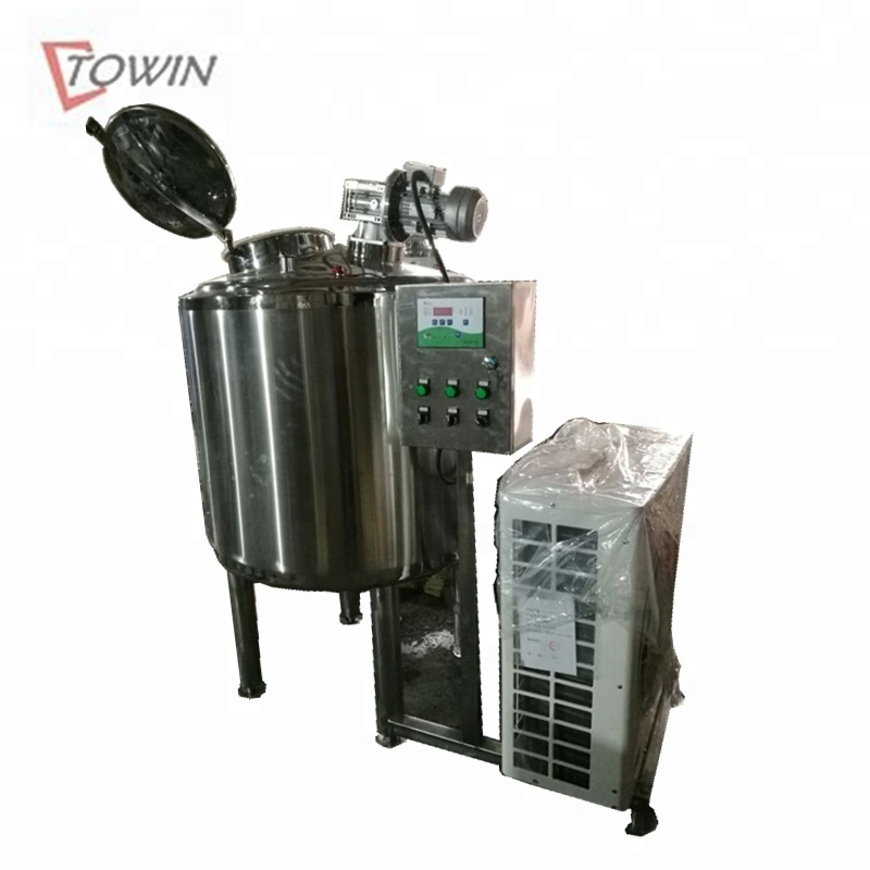 Small Stainless Steel Milk Cooling Tanks Cooler For Sale - Buy Milk Cooling  Tank Price,Small Milk Tank,Mini Milk Cooler Product on Alibaba com