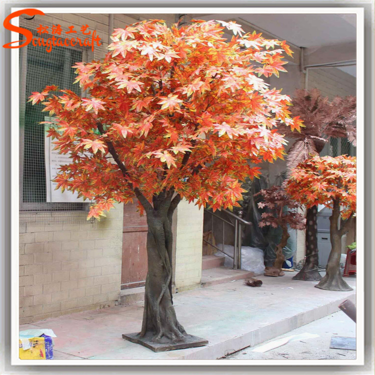 Excellent Artificial Japanese Red Maple Tree For Wedding Decoration At  XV52