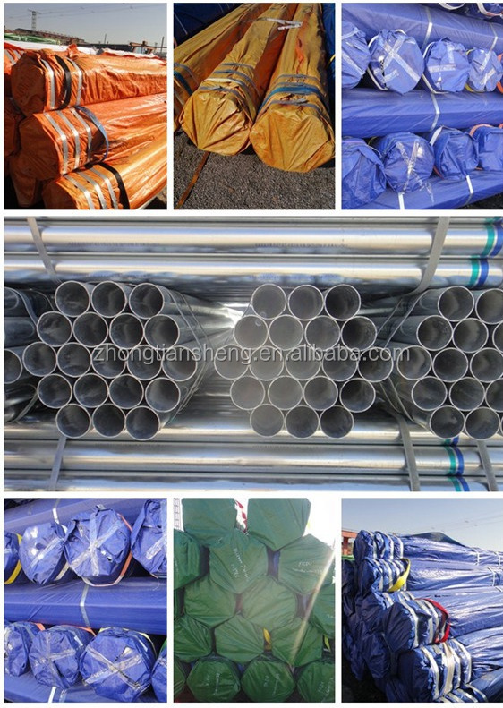 Main Product Astm A36 Steel Pipe / Tubo Galvanizado / Bs 729 Hot ...