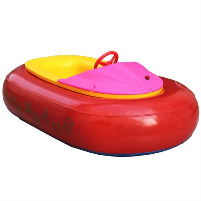 באיכות גבוהה מתנפח ילדים פגוש סירה כחול חשמל אקווה בננה ההנעה סירת סירה חשמלית לילדים
