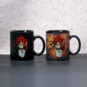 Souvenir Glossy Custom Logo Color Changing Wholesale Coffee 11oz Sublimation Blank Magic Ceramic Mug For Sublimation