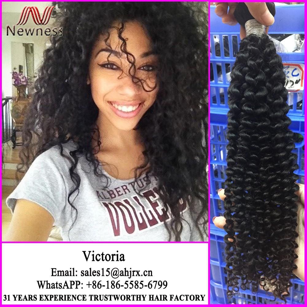 5a 6a 7a 8a Kinky Curly Remy Human Hair Loop Micro Ring Hair