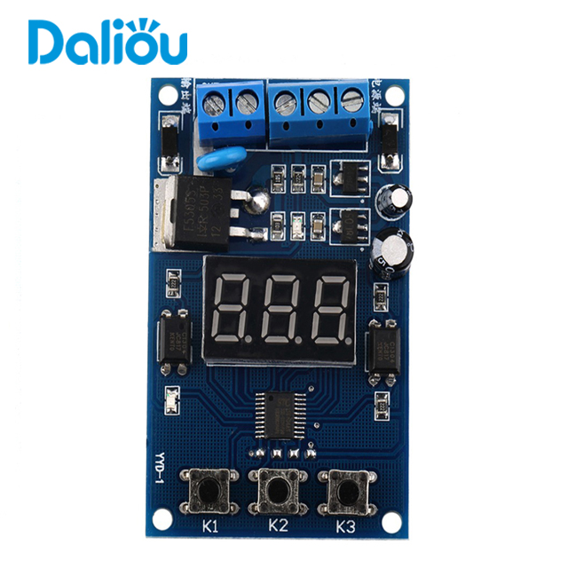 New Trigger Cycle Timer Delay Switch Circuit Control Board
