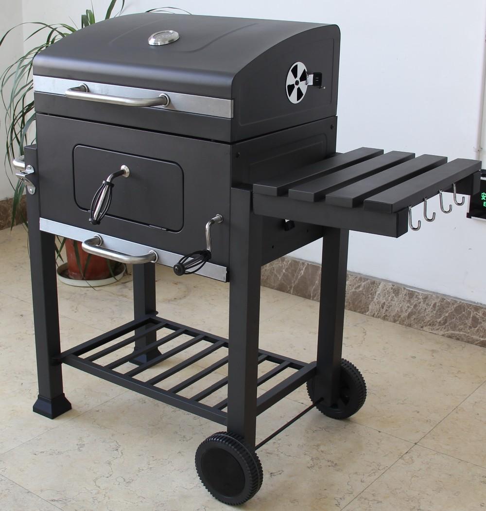 Gril Barbecue Commerciale Flamme Grill Poulet Machine De