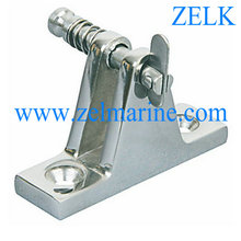 Boat Hardware Stainless Steel Deck Hinge with Release Pin