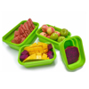 2017 hot new products plastic food storage box lunch boxes bento easy to takeaway