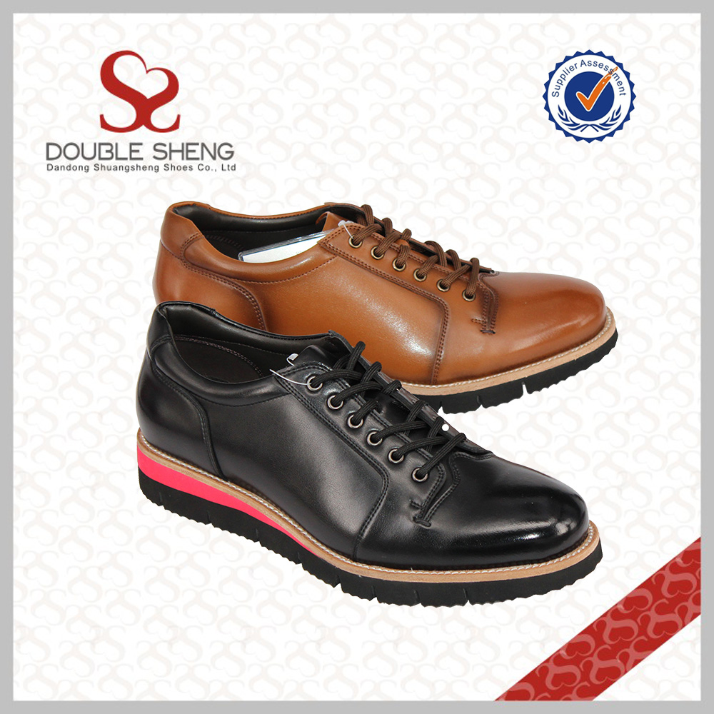 quality up formal man Brand leather european lace trendy shoes name t4AwPa