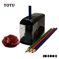 2018 Professional ABS AUTO Start & Stop School Electric Pencil Sharpener/104x 45 x 78mm/ JD3003 Black with 1 hole for ART