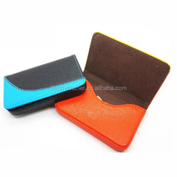 Custom name card holderpatchwork leather cheap business card holder custom name card holder patchwork leather cheap business card holder reheart Images
