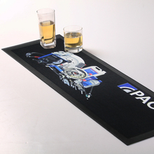 Custom Sublimation Branded Bar Spill Matts With Logo