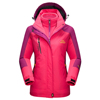 Custom Windproof Couples Ski jacket Women Windbreaker Mountain Hoodies Jacket