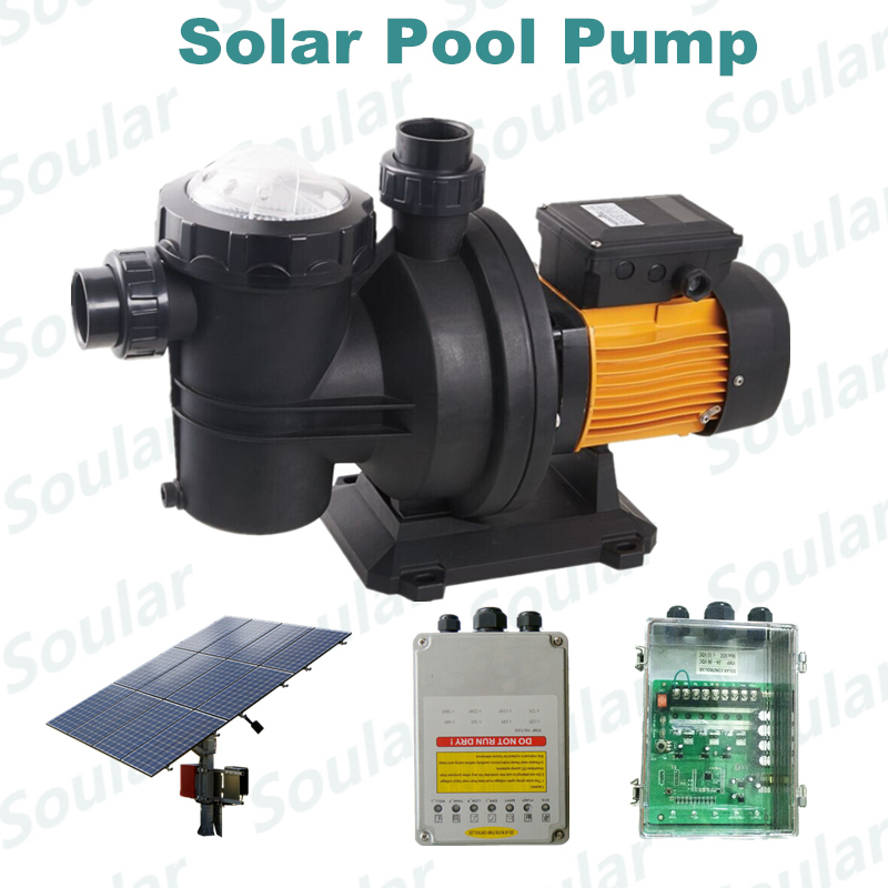 popular brushless solar pool pump 5 years warranty