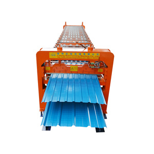 Automatic Double Layer Used Metal Roof Panel Roll Forming Machine