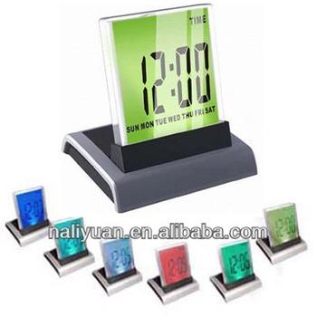 Digital Desktop Calendar With 7 Color Display Electronic Desktop ...