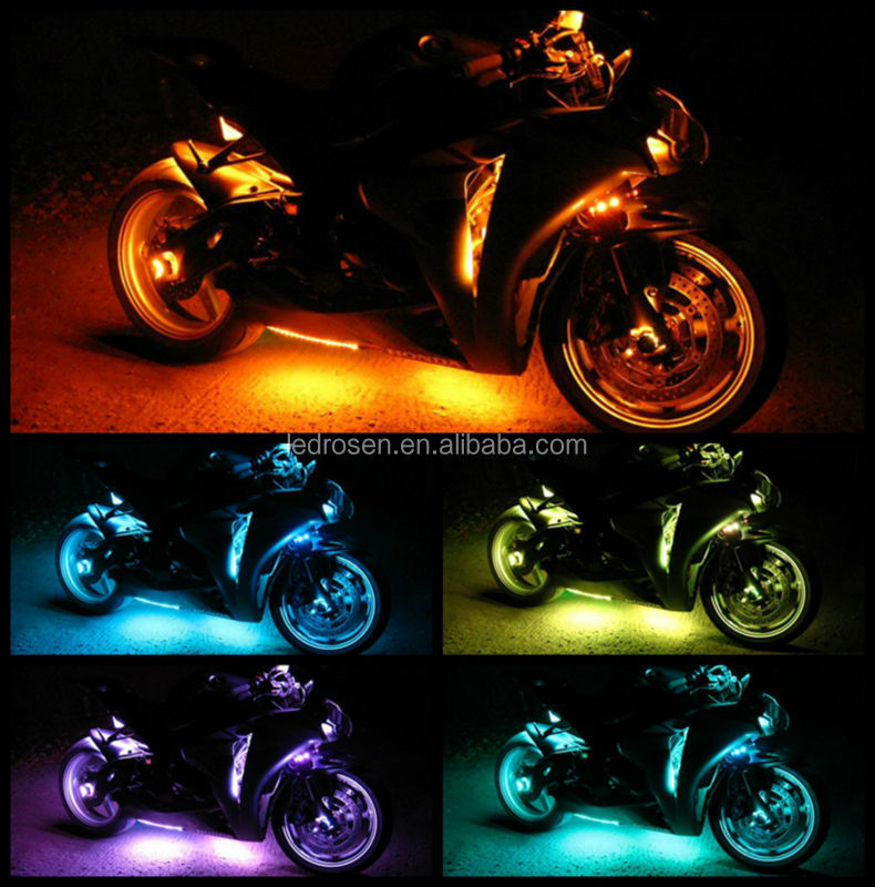 Decorative Motorcycle Led Light Kit With Remote And Controller ...